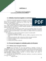 (Www.aseonline.ro)Contabilitate Publica-Cap2 Procesul de Bugetare