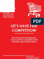 Fair Competition Release