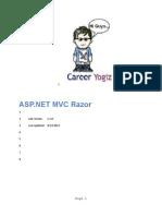 ASPNETMVC3Razor