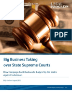 Big Business Taking over State Supreme Courts