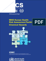 Chemical Risk Assessment