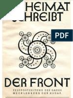 Die Heimat Schreibt Der Front - 1944 Folge 4 (16 S., Scan-Text)