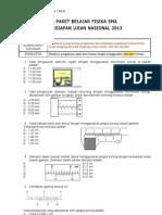 Paket Soal Persiapan Un 2012 - Mgmp Fisika Sanggar 14 Jaktim