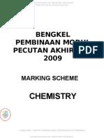 Chemist Marking Scheme (Main)1
