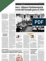 Bloque Oficiaista y Alianza Parlamentaria Plantean El Retorno Del Senado Para El 2016