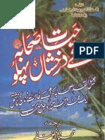 Hayaat E Sahaaba Kay Darakhshan Pehlu