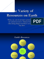 Chapter 4-Variety of Resources on Earth