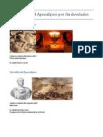 Los 7 Sellos del Apocalipsis por fin develados