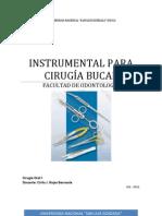 Cirugia Instrumental Odontologico