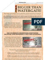 Bigger Than Watergate! - Article II Super PAC  Washington Times Ad - 13Aug2012 - Daily & Natl Weekly Editions