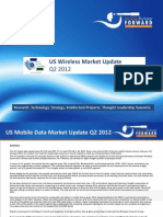 US Wireless Market Q2 2012 Update Aug 2012 Chetan Sharma Consulting