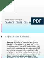 CANTATA DRAMA DAS ÁGUAS