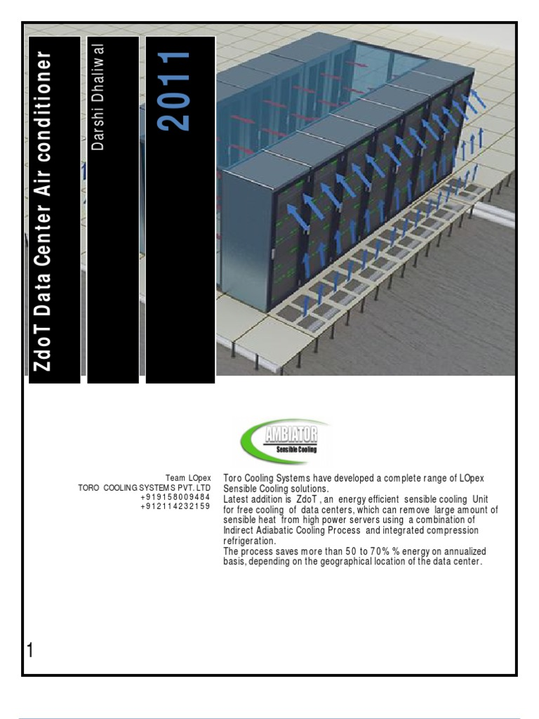 Zdot Data Center Cooling | Air Conditioning | Data Center
