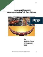 Tata Motor top level management
