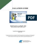InstallationGuide-FieldToolsforArcPadv10.0