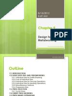 Chapter 9 Design for Sheet Metal1