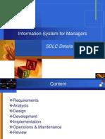 SDLC Details