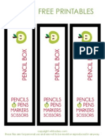Wh Hostess Pencil Box Label - Free Printables
