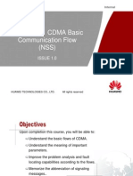 40330059 ORL000001 CDMA Basic Communication Flow NSS ISSUE1 0