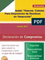 01 Charla Enero-Yanacocha y Su Compromiso Para La Gestion de Residuos