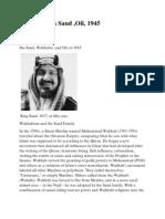 King Saud Whabism
