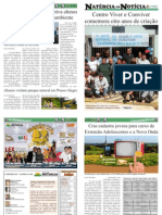13ª EDIÇÃO - JORNAL NATÉRCIA EM NOTÍCIA - JUNHO DE 2012