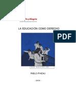 Educacion Como Derecho Pineau