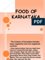 Food of Karnataka