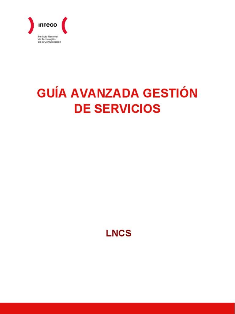 Guia Avanzada de Gestion de Servicios