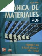 Mecanica de Materiales - 3ra Edicion - Beer, Johnston & DeWolf