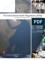 The International Health Regulations White Paper Final