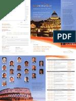 Biohorizons Symposium Series Italy 2012