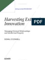 Harvesting External Innovation CH3