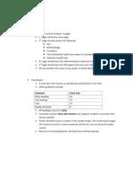 7th sem Reports' Formats