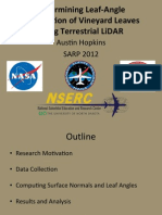 Determining Leaf-Angle Distribution of Vineyard Leaves Using Terrestrial LiDAR