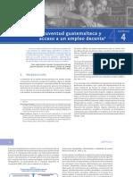 Primera encuesta nacional de juventud en Guatemala - Capítulo 4
