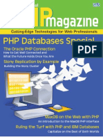 Php Oracle Connection Magazine Reprint