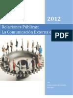 Las Relaciones Publicas  Comunicacion Externa e Interna