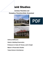 Field Studies 02 - Destrehan and Homeplace