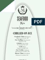 Maison Premiere menu
