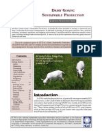 Dairy Goats Sustainable Production