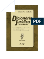 DICIONÁRIO JURÍDICO BRASILEIRO