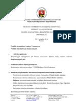 VU SA UKI ataskaitinės - rinkiminės konferencijos protokolas 2012 04 26