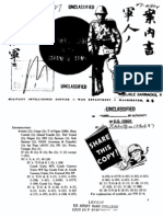 MIS Series 27 Soldier's Guide to the Japanese Army