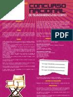 Concurso Nacional de Transparencia en Corto