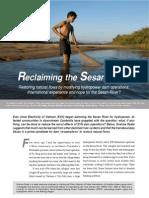 Reclaiming the Sesan River