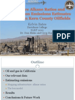 Signature Alkane Ratios and Hydrocarbon Emissions Estimates for Western Kern County Oilfields