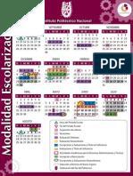 IPN - calendario escolarizado 2012-13