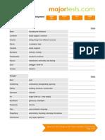 Advanced vocabulary development for TOEFL Word List 09