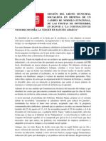 MOCIÓN DEL GRUPO MUNICIPAL SOCIALISTA EN DEFENSA DE UN CAMBIO DE MODELO FUNCIONAL (4)